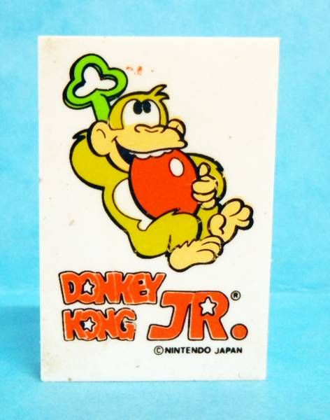 Nintendo Game & Watch - Perfumed Eraser Donkey Kong Jr. #2