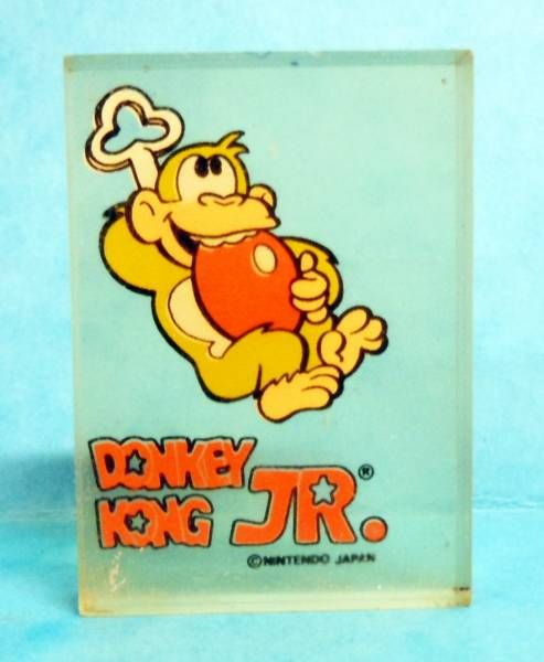 Nintendo Game & Watch - Transparent Perfumed Eraser Donkey Kong Jr. #2