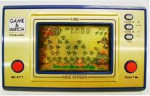 Nintendo Game & Watch - Wide Screen - Fire (Loose with Box)
