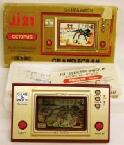Nintendo Game & Watch - Wide Screen - Octopus (occasion avec boite)