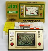 Nintendo Game & Watch - Wide Screen - Popeye (Loose with box)