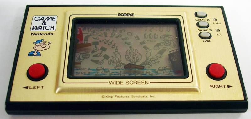 Popeye (Nintendo) - Game And Watch - doperoms.com