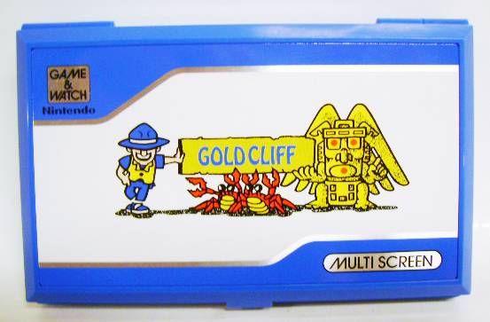 Nintendo Game & Watch (Pocketsize) - Gold Cliff (Near-Mint in box)