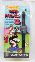 Nintendo Game Watch - Digital Watch - Super Mario Bros. 3 (mint on card)