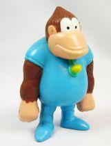 Nintendo Universe - Donkey Kong - Figurine Plastique Premium Kelloggs - Kiddy Kong