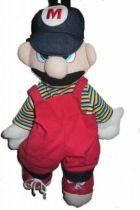 Nintendo Universe - Mario Bros. - 19\'\' Back Pack Plush - Mario
