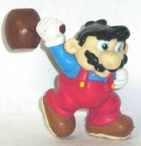 Nintendo Universe - Mario Bros. - Applause pvc figure - Mario with Hammer