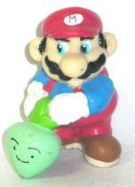Nintendo Universe - Mario Bros. - Applause PVC Figure - Mario with vegetable
