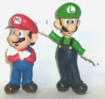 Nintendo Universe - Mario Bros. - Japanese pvc figures - Mario & Luigi