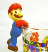 Nintendo Universe - Mario Bros. - Kellogs PVC Figure - Mario (hang glass by belly)