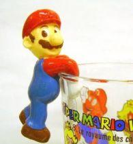 Nintendo Universe - Mario Bros. - Kellogs PVC Figure - Mario (hang glass by belly)