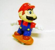 Nintendo Universe - Mario Bros. - Mars Premium PVC Figure - Mario on Skateboard -