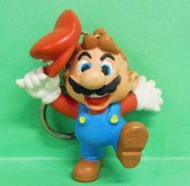 Nintendo Universe - Mario Bros. - Miniland PVC Figure - Mario saluting with cap (keychain)