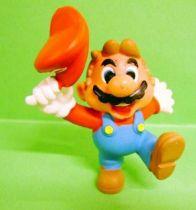 Nintendo Universe - Mario Bros. - Miniland PVC Figure - Mario saluting with cap