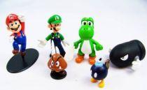 Nintendo Universe - Mario Bros. - Nintendo PVC figures - Mario, Luigi & Yoshi