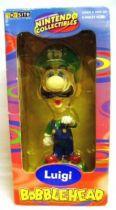 Nintendo Universe - Mario Bros. - Toy Site Bobblehead - Luigi