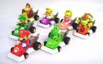 Nintendo Universe - Mario Kart DS - Tomy - Set of 7 Gacha Machines