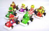 Nintendo Universe - Mario Kart DS - Tomy - Set of 7 Gacha Machines