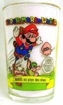 Nintendo Universe - Super Mario World - Amora Mustard glass - #2 In Dream Land
