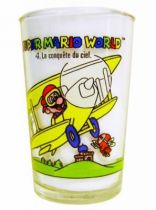 Nintendo Universe - Super Mario World - Amora Mustard glass - #4 The conquest of the sky