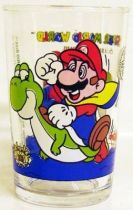 Nintendo Universe - Super Mario World - Amora Mustard glass - #6 Dinosaurs Land