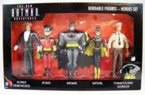 NJCroce - The New Batman Adventures - Bendable Figures - Heroes Set