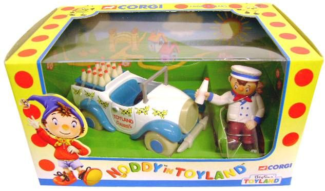 Noddy - Corgi 2000 - Mr Milko and Milk Van
