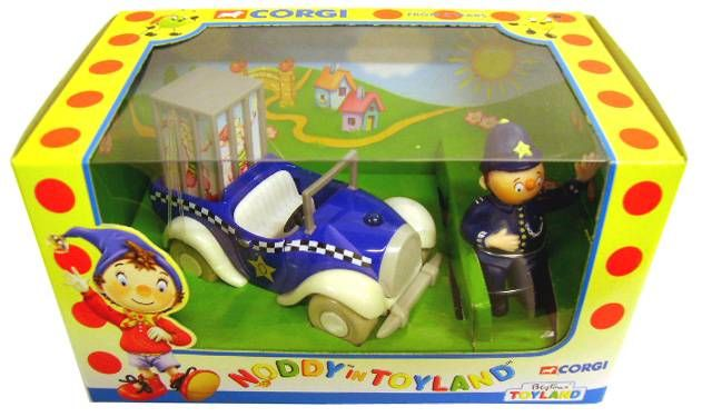 Noddy - Corgi 2000 - Mr Plod and Police Car
