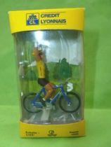 Norev - Cycliste Tour De France LCL Maillot Jaune Neuf Boite
