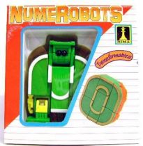 NumeRobots - Number 0 (Green & White)