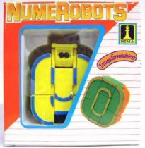 NumeRobots - Number 0 (Yellow & Blue)