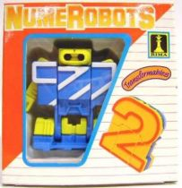 NumeRobots - Number 2 (Blue & White)