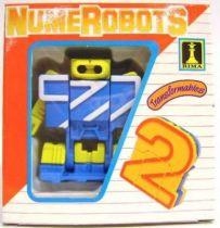 NumeRobots - Number 2 (Blue & White)