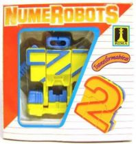 NumeRobots - Number 2 (Yellow & Blue)