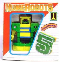 NumeRobots - Number 5 (Yellow & Blue)