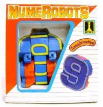 NumeRobots - Number 9 (Blue & Yellow)