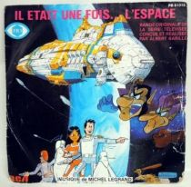 Once upon a time... Space - Mini-LP Record - Original French TV series Soundtrack - RCA Records 1982