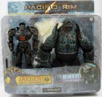 Pacific Rim - Jaeger Gipsy Danger & Kaiju Leatherback - NECA