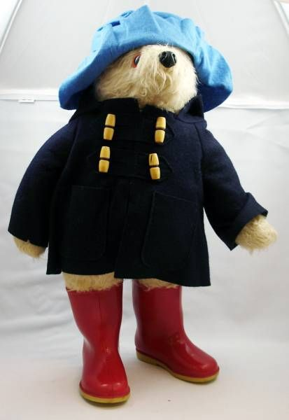 Paddigton Bear - 20\'\' plush doll - Dunlop 1975