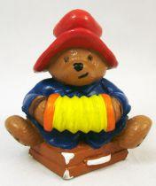 Paddington Bear - Schleich PVC Figure - Paddington with accordion