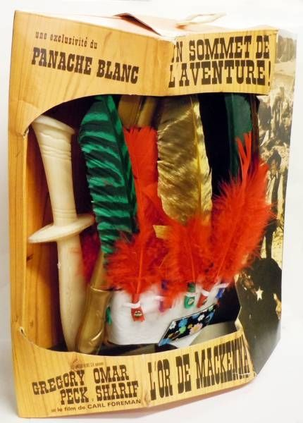 Panache Blanc - Apache Child Costume - Mackenna\\\'s Gold (Carl Foreman\\\'s production starring Gregory Peck, Omar Sharif, Telly Sa