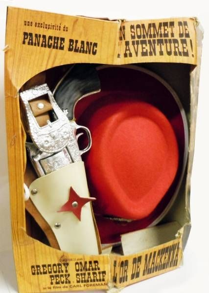 Panache Blanc - Cowboy Child Costume (red) - Mackenna\'s Gold (Carl Foreman\'s production starring Gregory Peck, Omar Sharif, Te