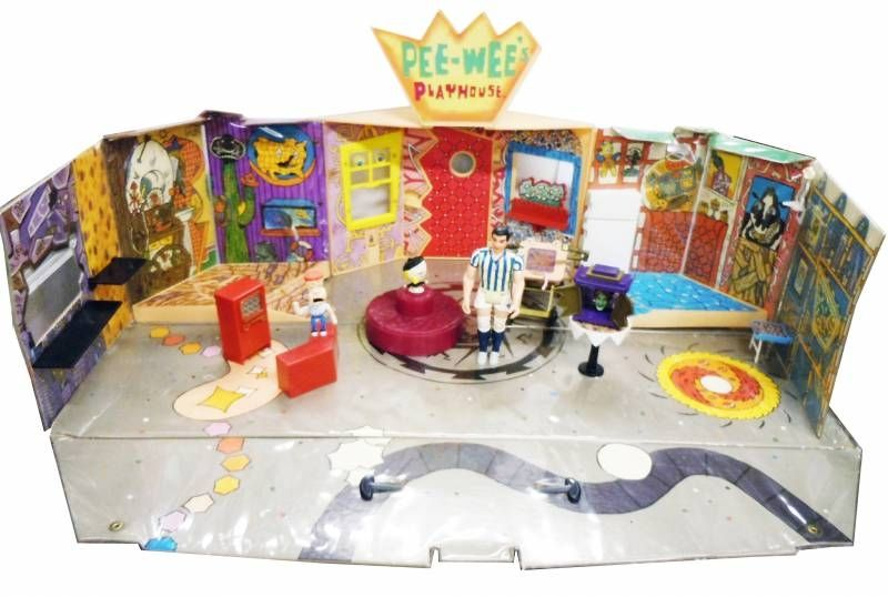 Pee-Wee\\\'s Playhouse - Mattel 1988 - Playset + accessories (Ricardo figure included)