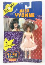 """Pee-Wee\'s Playhouse - Miss Yvonne 5\"""" action-figure - Matchbox"""