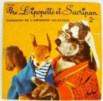 Père Lipopette et Sacripan - Mini-LP Record - Disques Festival /Antenne2 1975