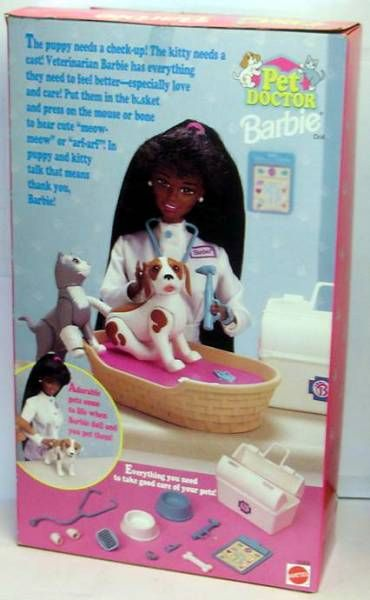 Pet Doctor Barbie - Mattel 1996 (ref.15302)