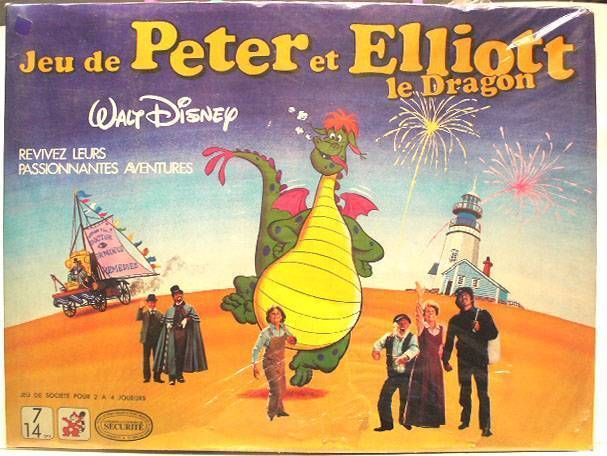 Pete\\\'s Dragon - Mako board game