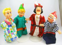 Peter Pan - Set of 4 hand-puppets (loose)