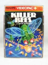 Philips Videopac + - Cartouche n°52 Killer Bees (La Ruche Infernale)