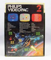 Philips Videopac - Cartouche n°2 Identification / Rendez-Vous-Spatial / Logique